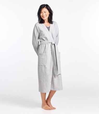 Women's Ultrasoft Sweatshirt Robe, Wrap