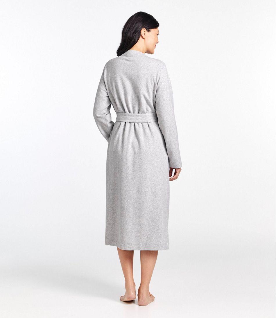 Women's Ultrasoft Sweatshirt Robe, Wrap