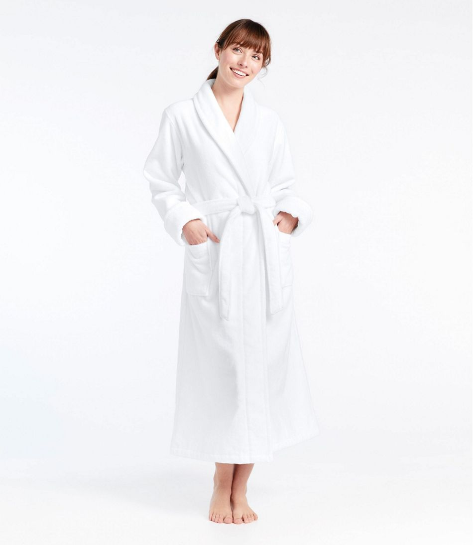 Women's Organic Terry Robe