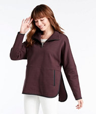 Signature Quarter-Zip Sweatshirt Poncho