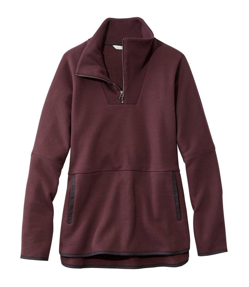 Signature Quarter-Zip Sweatshirt Poncho