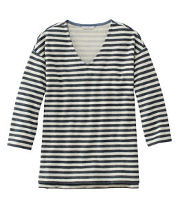 Women's Signature French Sailor Knit Tee, V-Neck