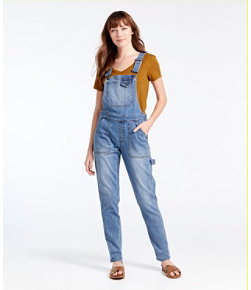 Women's Signature Overalls, Denim