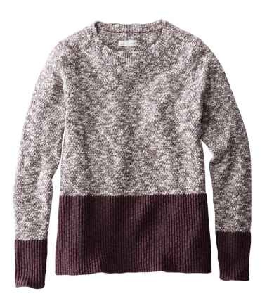 Signature Cotton/Linen Ragg Crewneck Sweater