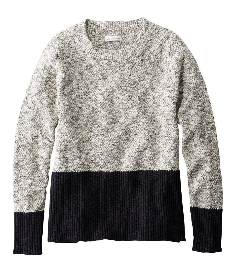 Signature Cotton/Linen Ragg Crewneck Sweater