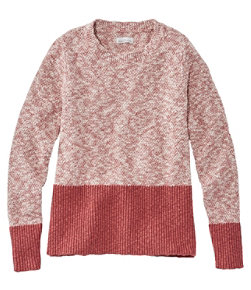 Women's Signature Cotton/Linen Ragg Crewneck Sweater