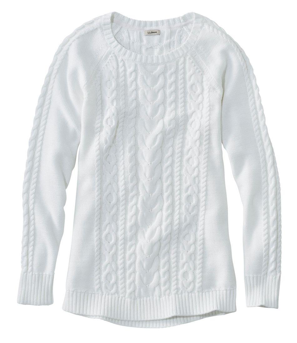 Double L Sweater, Jewelneck Tunic