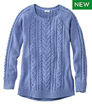 Double L Sweater, Jewelneck Tunic
