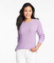 Midweight Cotton Slub Rollneck Pullover Misses Regular