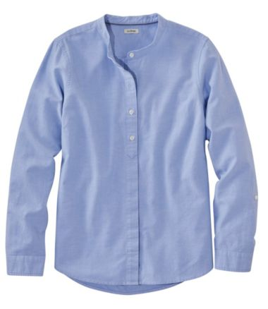 Lakewashed® Organic Cotton Oxford Shirt, Roll Tab