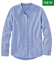 Lakewashed Organic Cotton Oxford Shirt, Roll Tab
