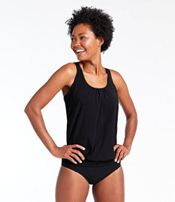 Slimming Swimwear, Blouson Tankini Top