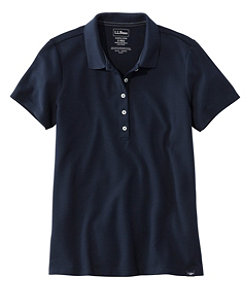 Premium Double L Shaped Polo, Short-Sleeve