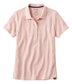 Women's Premium Double L Shaped Polo, Short-Sleeve