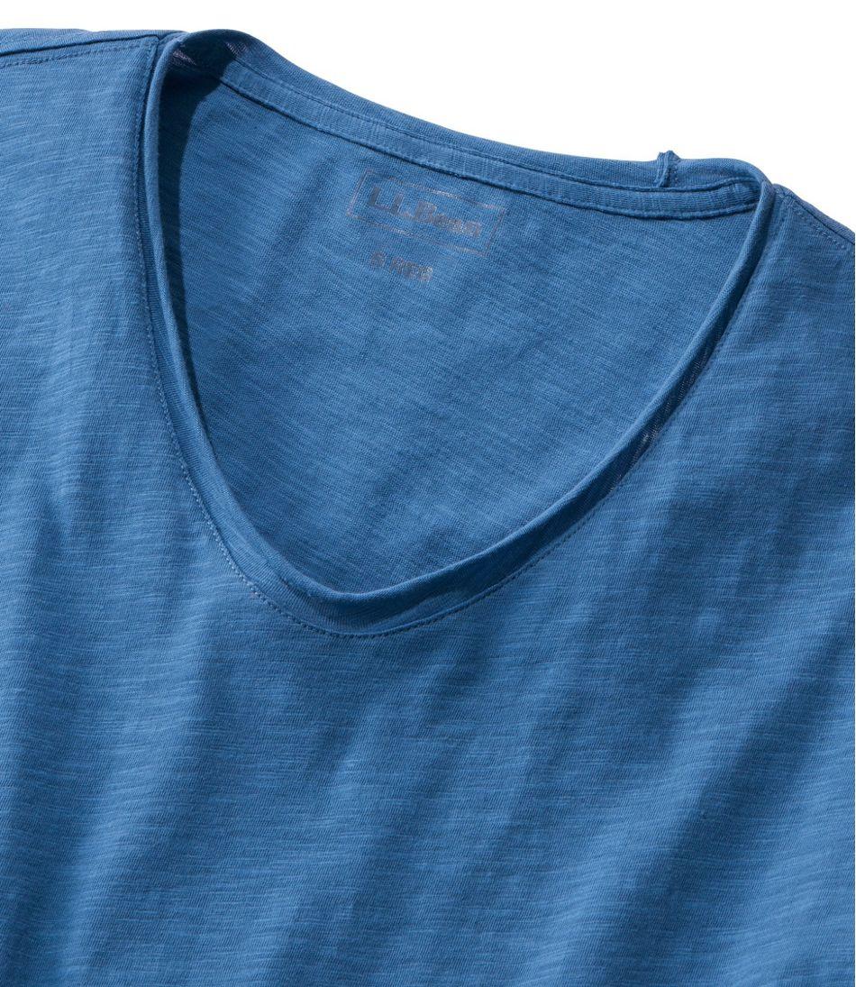 Women's Organic Cotton Tee, V-Neck Short-Sleeve