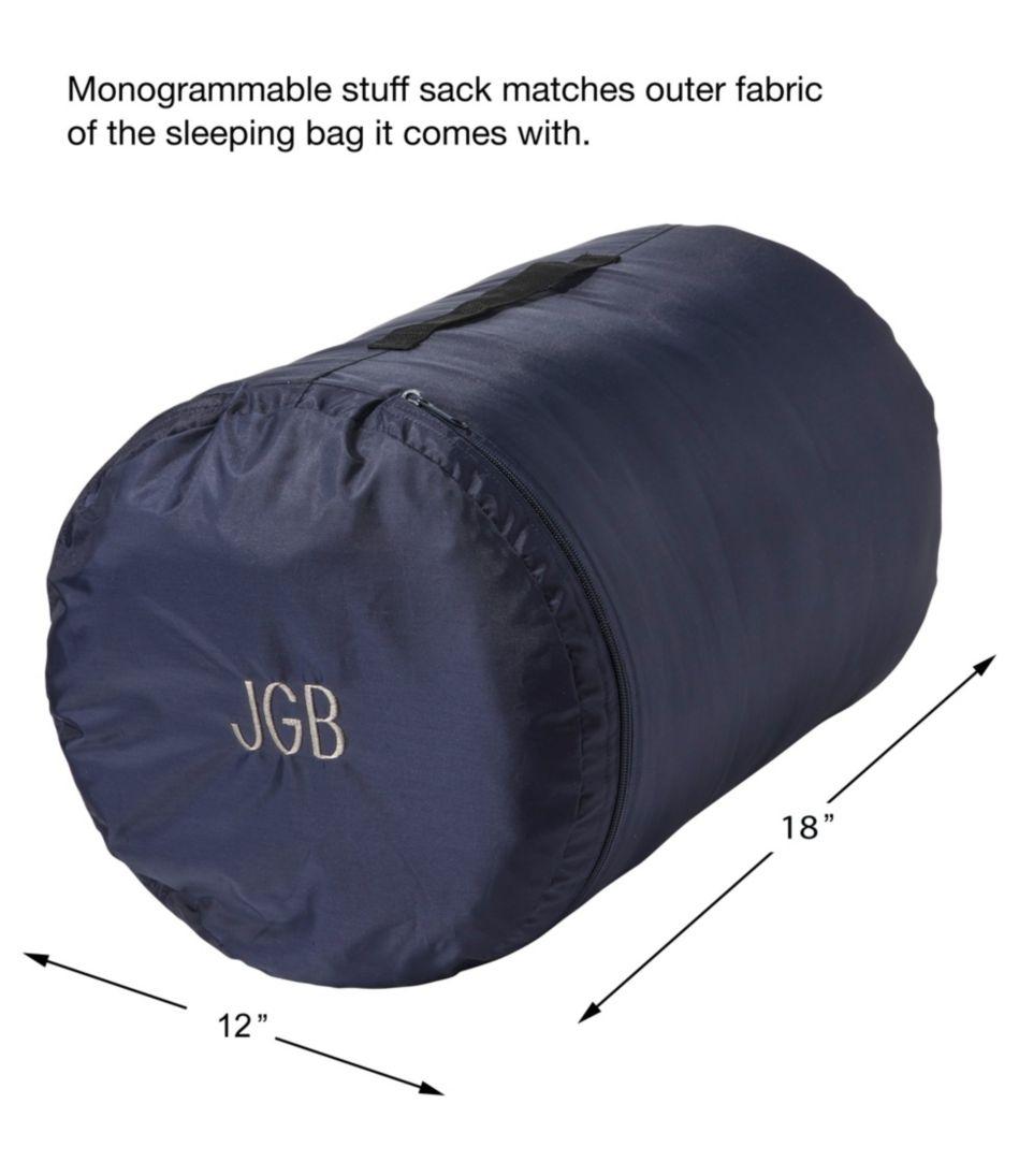 Deluxe Fleece-Lined Camp Bag, 30°