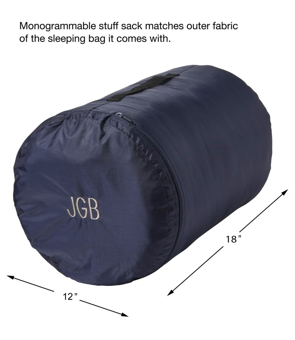 Deluxe Fleece-Lined Camp Bag, 30°