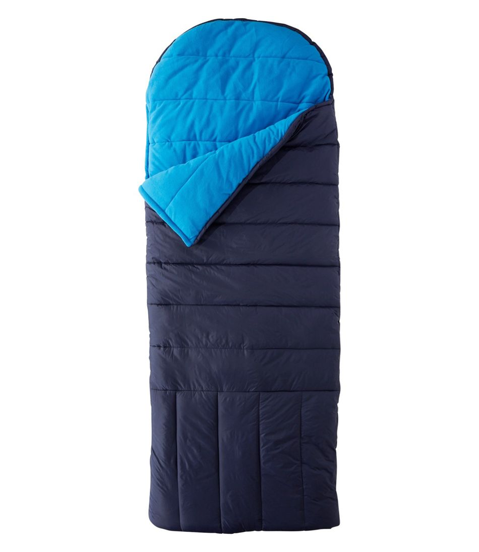 Adults' Deluxe Fleece-Lined Camp Bag, 30°
