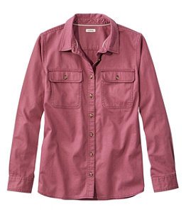 Women's L.L. Bean Heritage Washed Denim Shirt, Long-Sleeve
