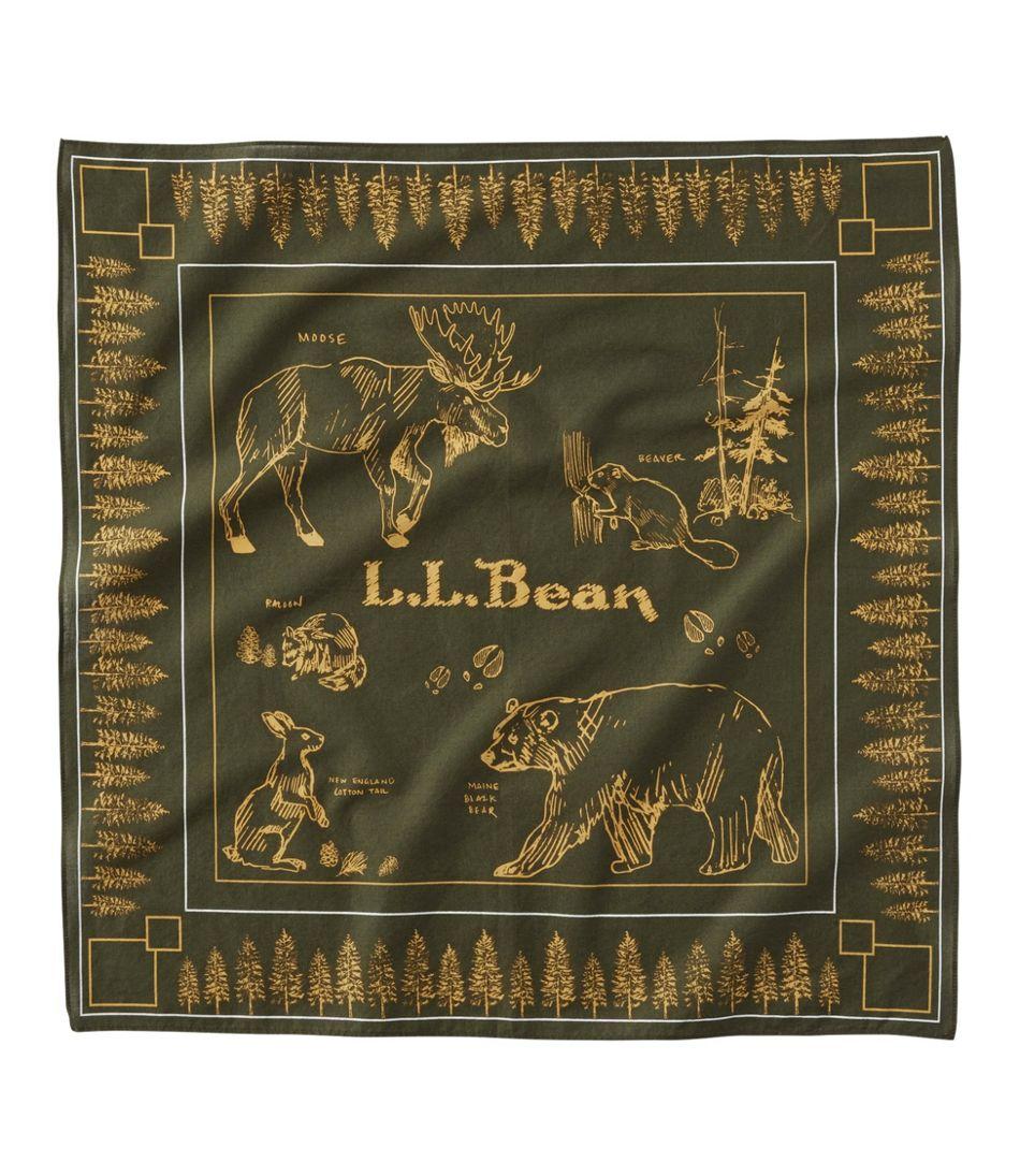 L.L.Bean Graphic Bandana, Unisex