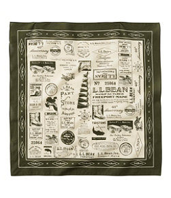 Adults' L.L.Bean Graphic Bandana