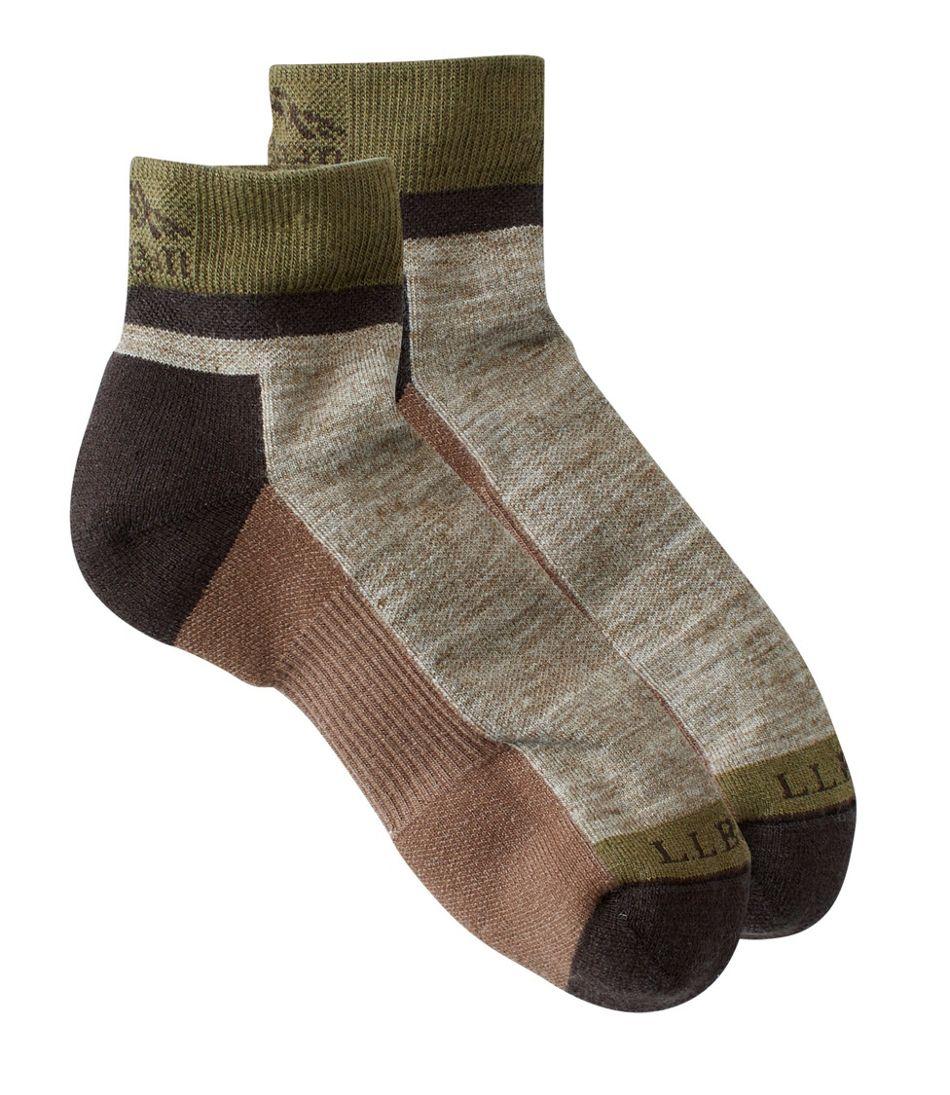 Men's PrimaLoft Performance Socks, Quarter-Crew