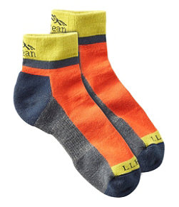 Men's PrimaLoft Performance Socks, Quarter-Crew
