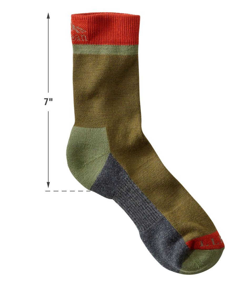 Men's PrimaLoft Performance Socks, Crew Height
