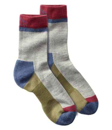 Men's PrimaLoft Performance Socks, Crew Height