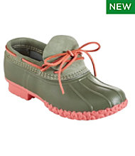 Women's Small Batch L.L.Bean Boots, Nubuck Rubber Moc
