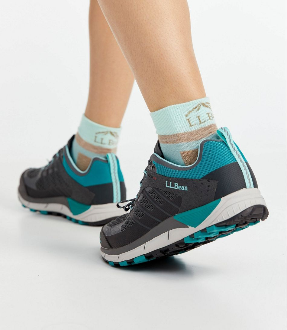 Women's PrimaLoft Performance Socks,1/4 Crew