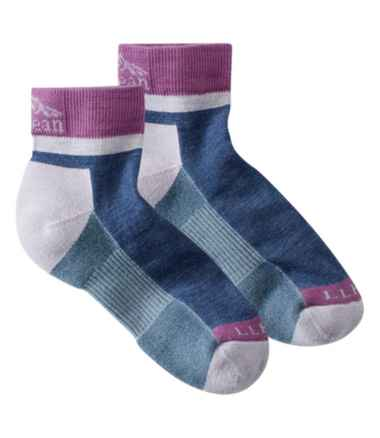 Women's PrimaLoft Performance Socks,1/4 Crew