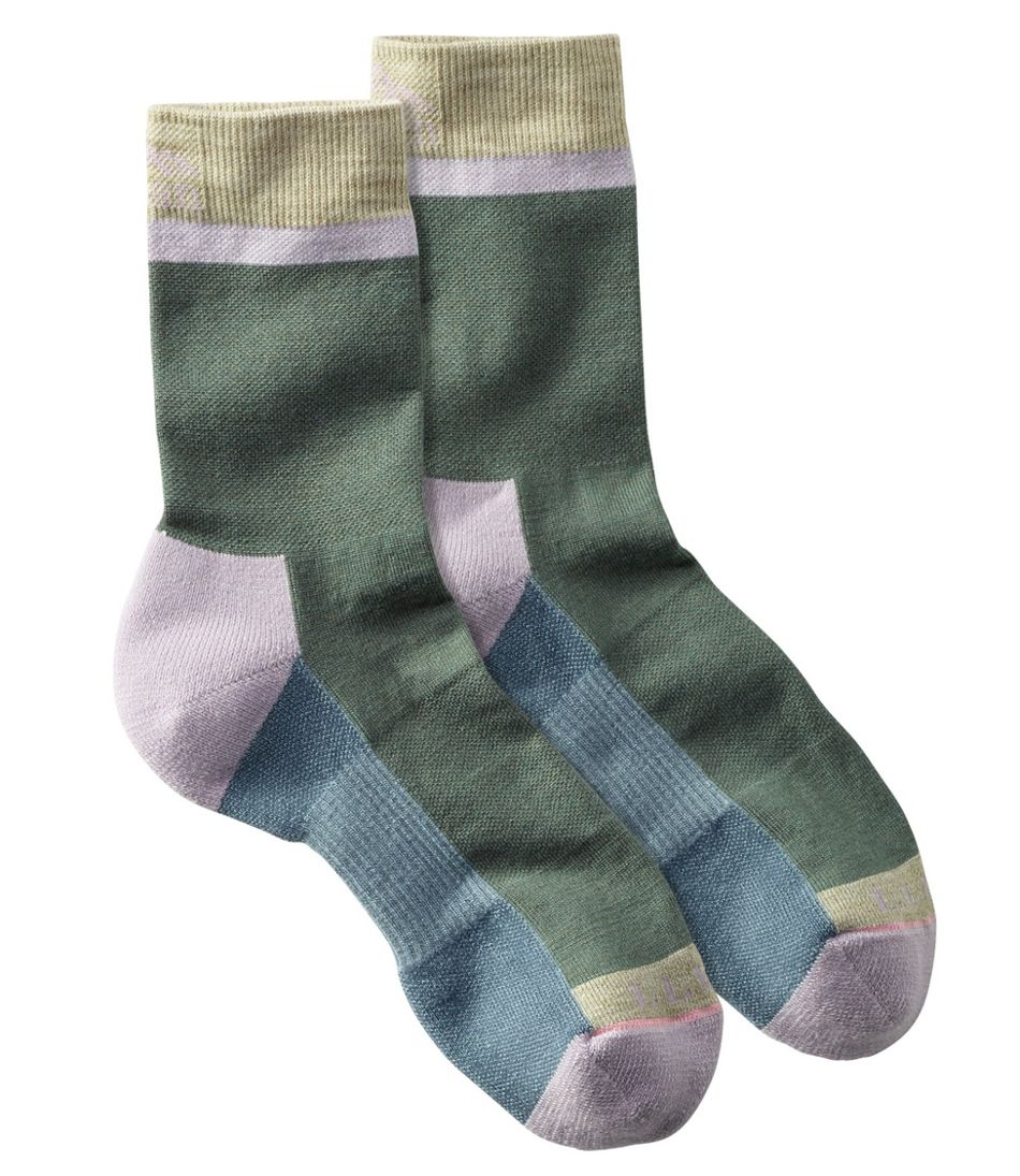 Women's PrimaLoft Performance Socks, Crew Height