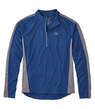 Men's L.L.Bean Comfort Cycling Jersey, Long-Sleeve