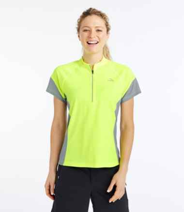 Women's L.L.Bean Comfort Cycling Jersey, Short-Sleeve