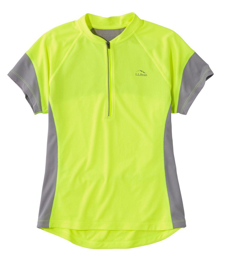 Women's L.L.Bean Comfort Cycling Jersey, Short-Sleeve