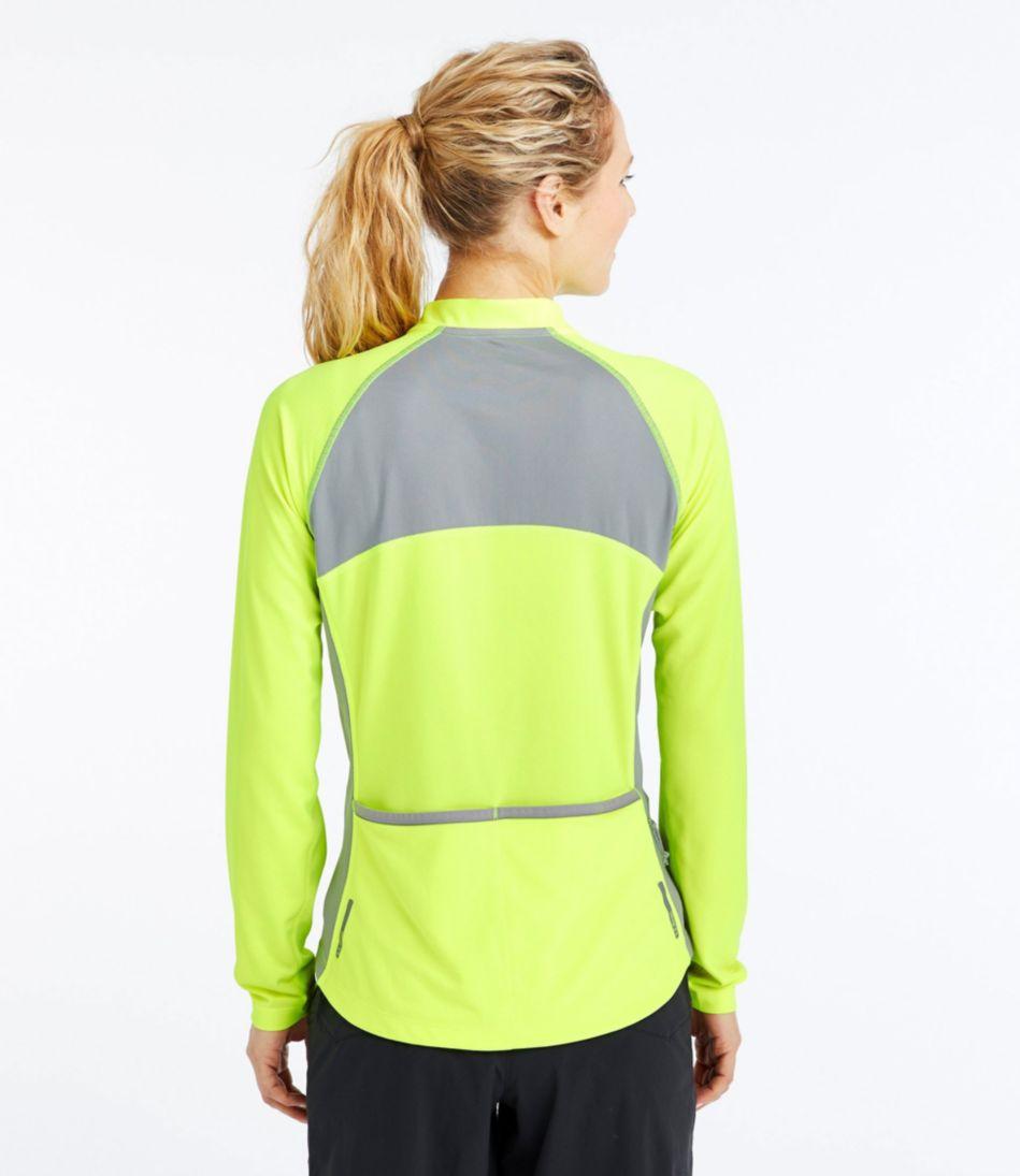 Women's L.L.Bean Comfort Cycling Jersey, Long-Sleeve