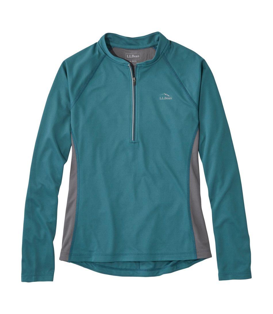 Women's L.L.Bean Comfort Cycling Jersey, Long Sleeve