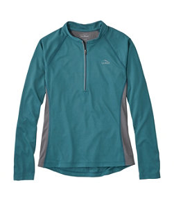 Women's L.L.Bean Comfort Cycling Jersey, Long-Sleeve