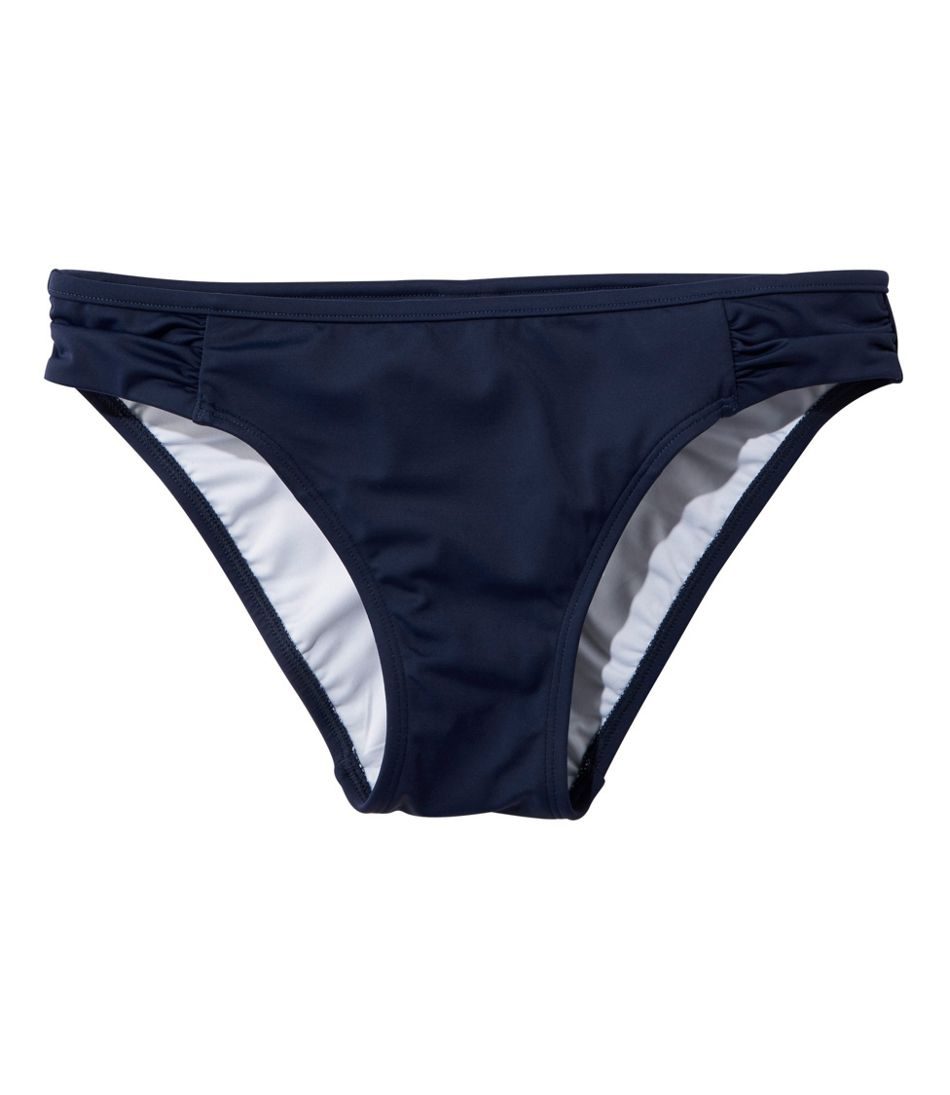 L.L.Bean Mix-and-Match Swim Collection, Side-Shirred Brief