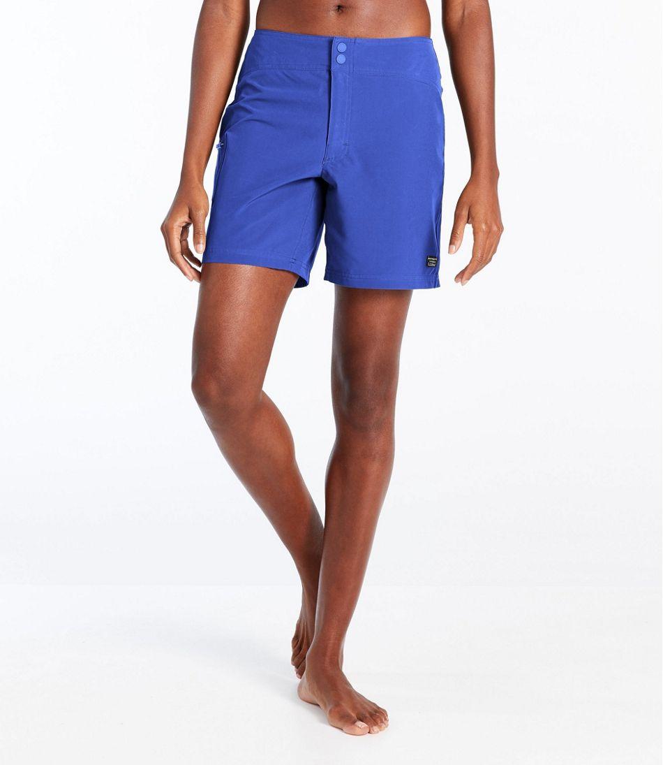 """L.L.Bean Stretch Board Shorts, 7"""""""