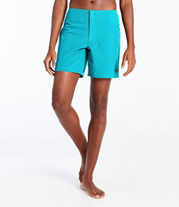 L.L.Bean Stretch Board Shorts, 7""
