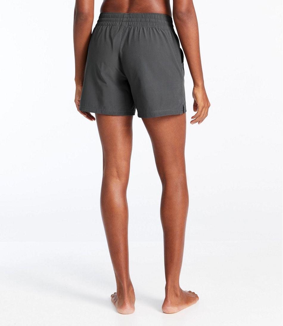 """Women's L.L.Bean Stretch Board Shorts, Pull-on 5"""""""