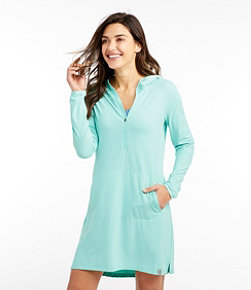 Women's Sand Beach Cover-Up, Hooded Tunic