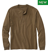 667476d3 Lakewashed Organic Cotton Shirt, Long-Sleeve Henley