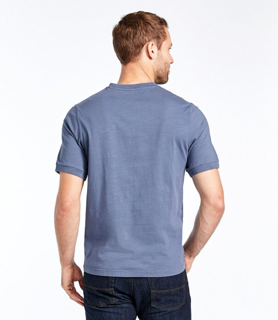Lakewashed® Organic Cotton Shirt, Short-Sleeve Henley