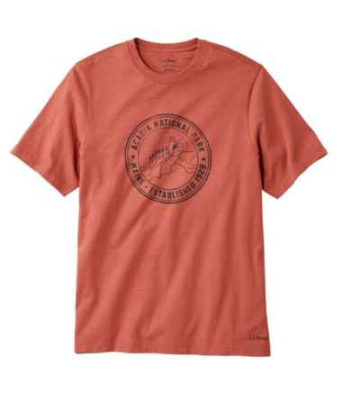Men's Lakewashed® Organic Cotton Graphic Tee, Short-Sleeve