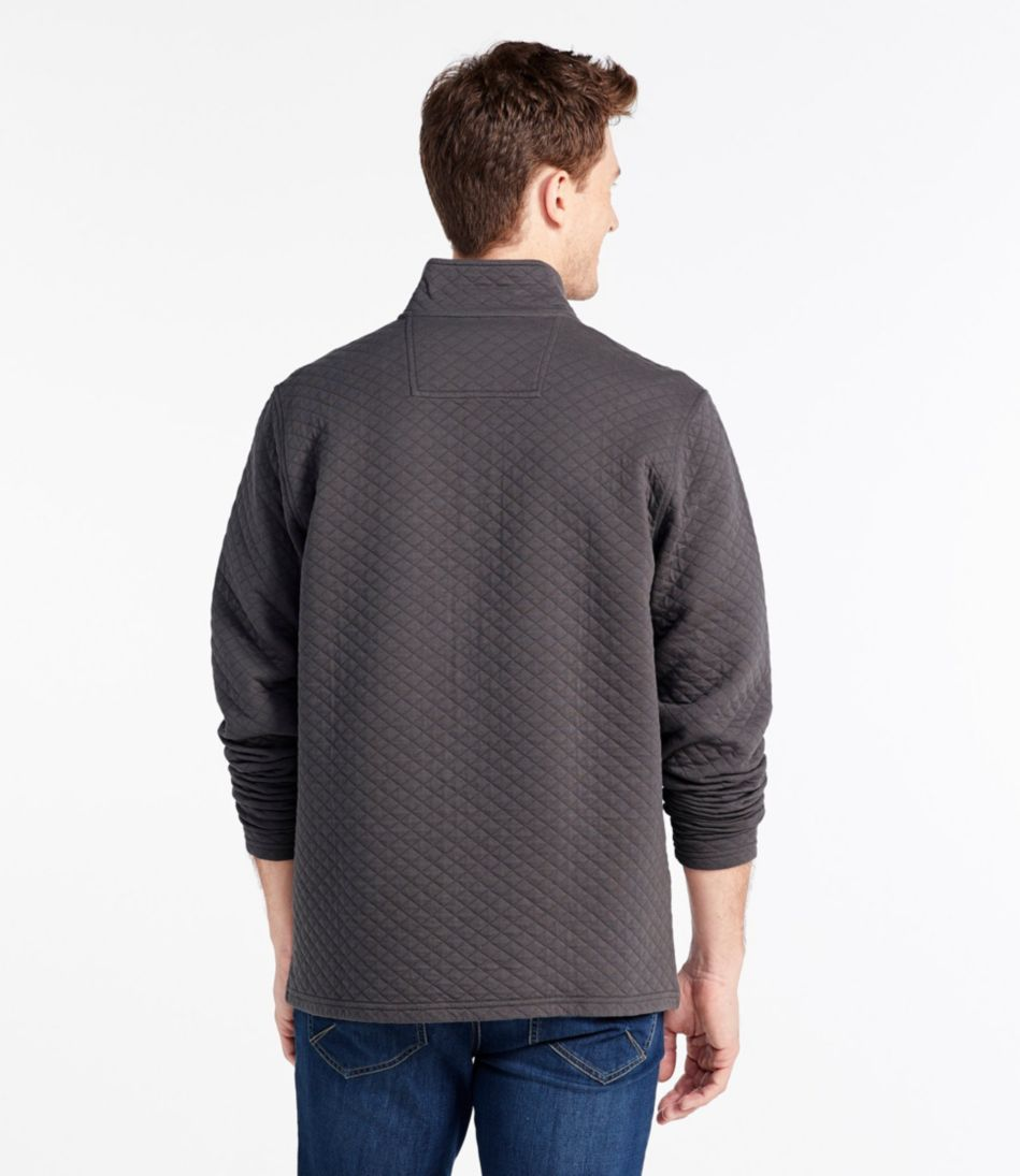 L.L.Bean Quilted Pullover