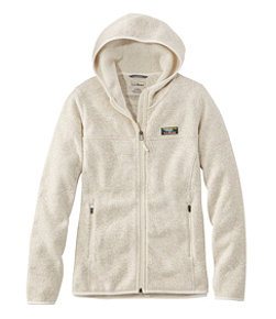 Women's L.L.Bean Sweater Fleece, Full-Zip Hoodie
