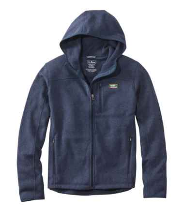 Bean's Sweater Fleece, Hooded Full-Zip Jacket